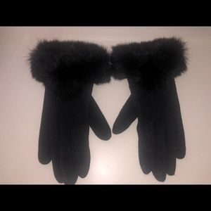 Genuine Rabbit Fur Gloves